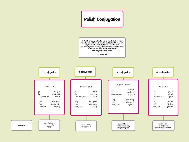 Polish Conjugation1